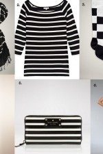 What I Want Now {Black & White Stripes}