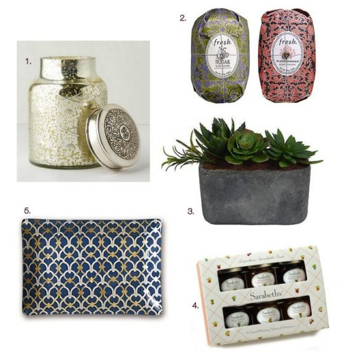 5 Under $25 {Hostess Gifts}