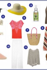 The Savvy Girl's Guide to Packing for a Beach Holiday