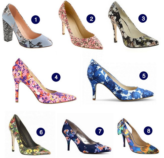 Get The Look :: Floral Pumps