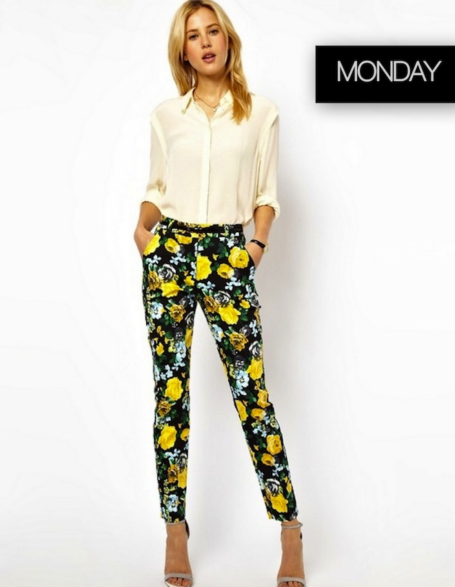 Weekday Wardrobe Inspiration- MONDAY
