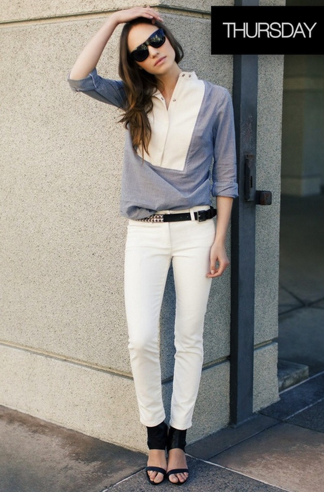 Weekday Wardrobe Inspiration- THURSDAY