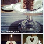 {Birthday} Banana Spice Cake