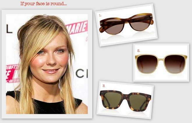 Cat Eye Sunglasses For Round Faces Images & Pictures - Becuo