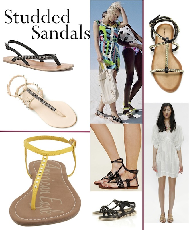 Studded Sandals > The Effortless Chic