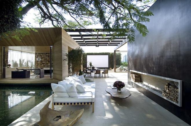 Outdoor Space Amusing Indoor  Outdoor Space  The Effortless Chic Inspiration Design