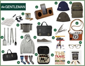 Gift Guide {The Gentleman}