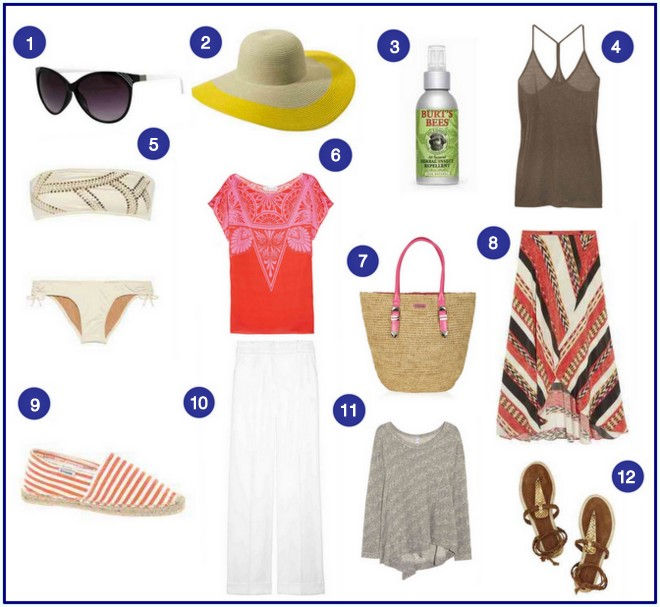 the savvy girl u0026 39 s guide to packing for a beach holiday