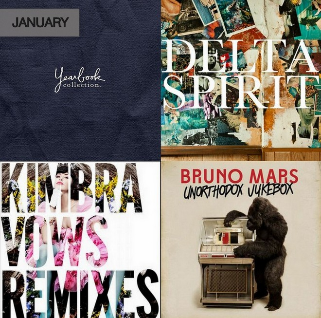 WHAT TO LISTEN TO NOW {JANUARY}