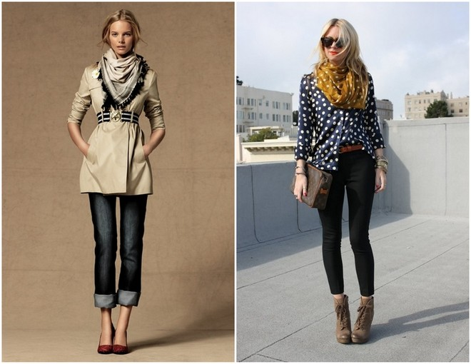16 Ways To Wear A Scarf 3