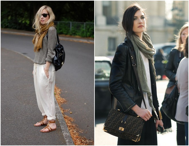 16 Ways To Wear A Scarf 5