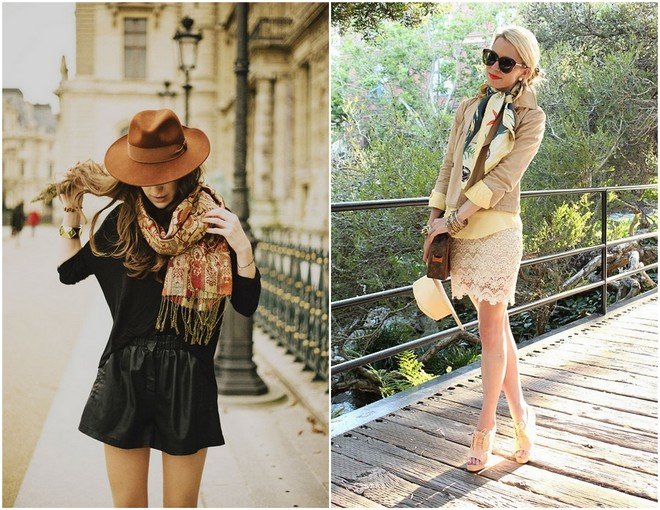 16 Ways To Wear A Scarf 6