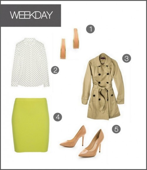 One Skirt, Two Ways :: Weekday