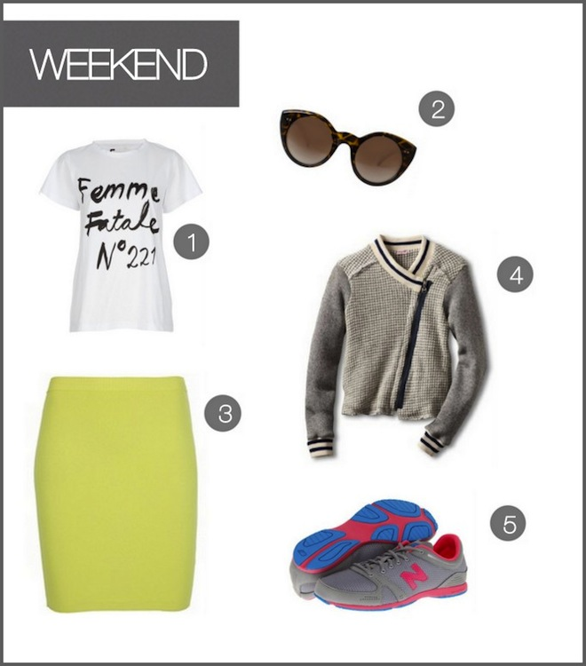 One Skirt, Two Ways :: Weekend