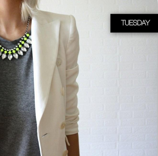 Weekday Wardrobe Inspiration- TUESDAY
