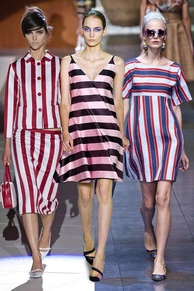 Spring's New Stripes