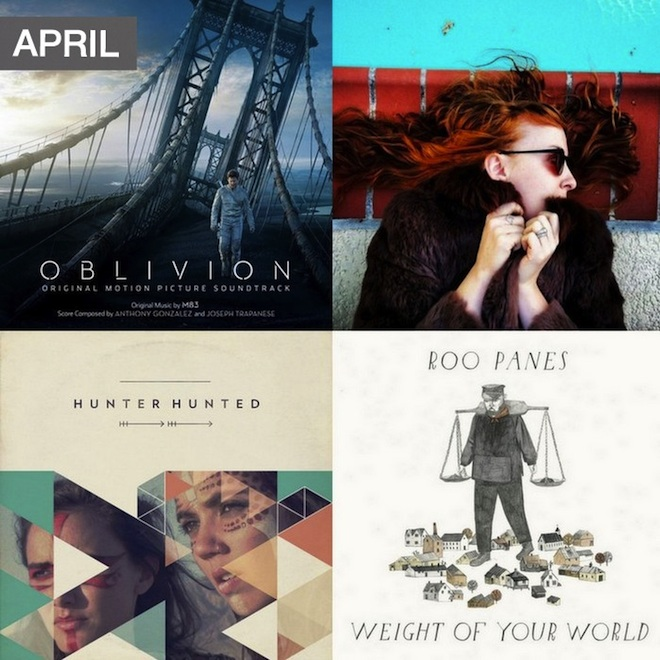 What To Listen To Now-April