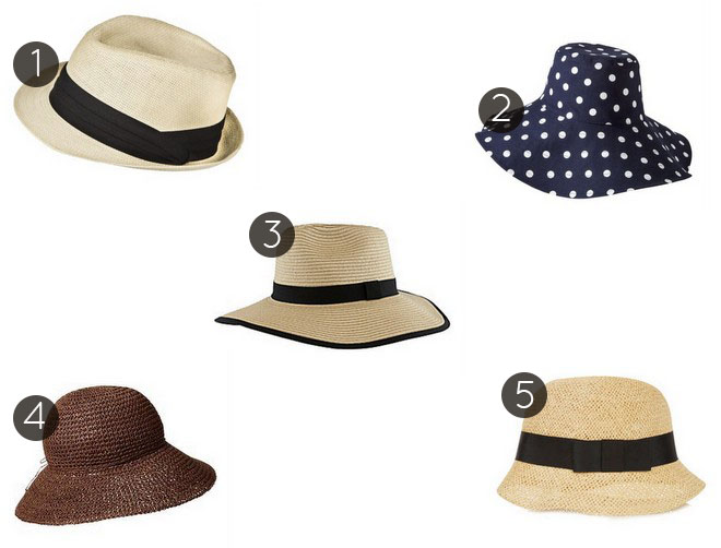 5 Under 25 Summer Hats
