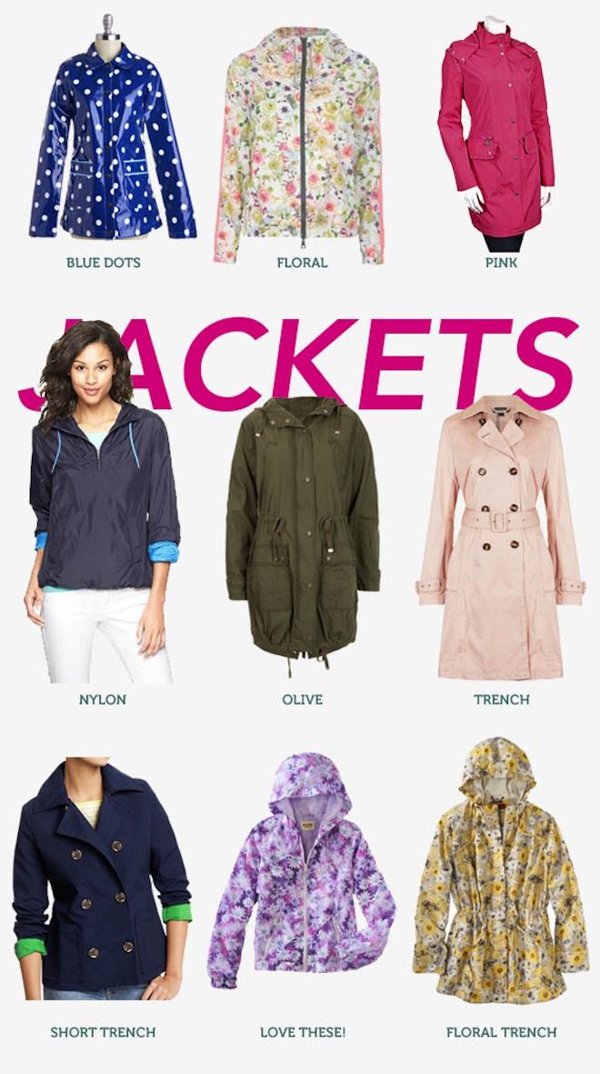 Stylish Rain Gear - Jackets