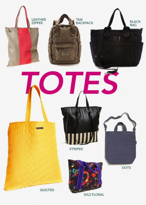 Stylish Rain Gear -Totes