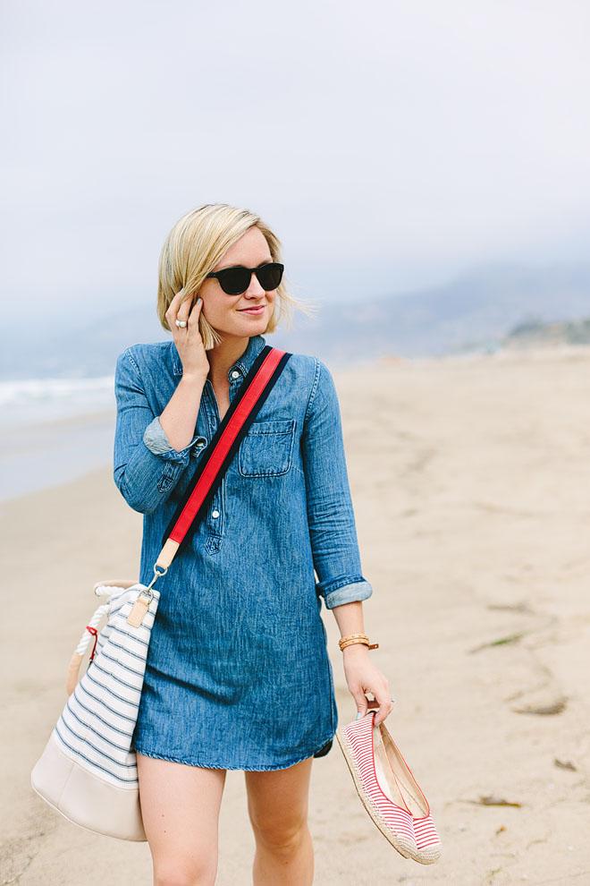 Jen Pinkston, A Day At The Beach 1
