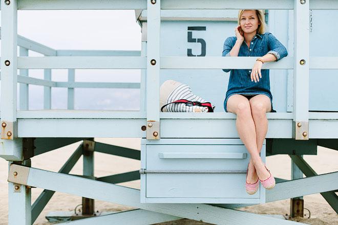 Jen Pinkston, A Day At The Beach 2
