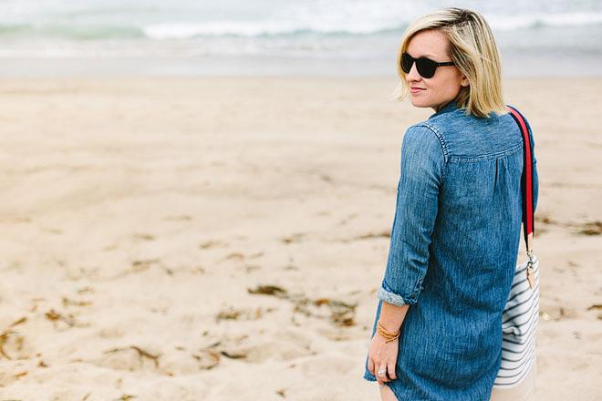 Jen Pinkston, A Day At The Beach 4