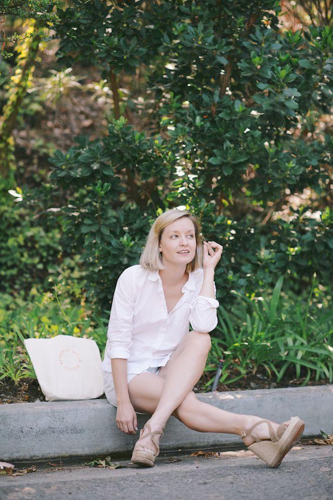 Jen Pinkston : White Shirt 1