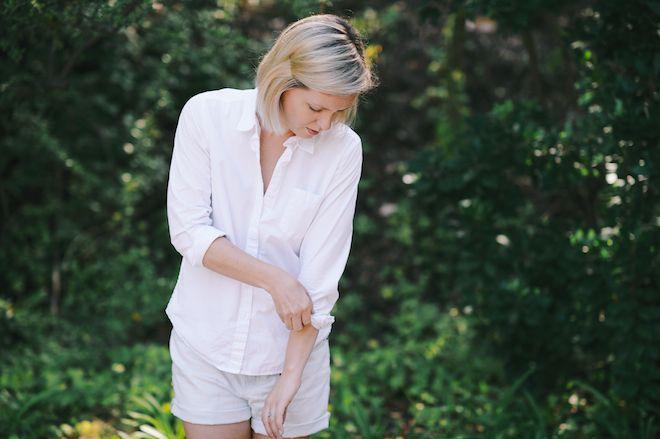 Jen Pinkston : White Shirt 2