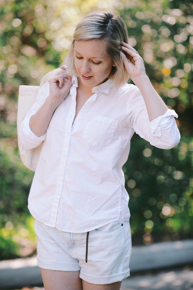 Jen Pinkston : White Shirt 4