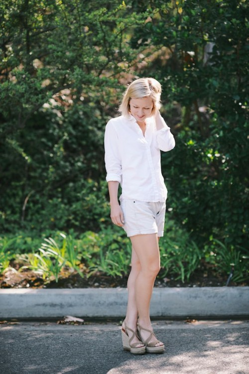 Jen Pinkston : White Shirt 5