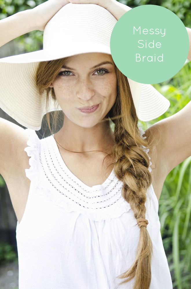 Perfect Summer Hair 3 Ways The Effortless Chic