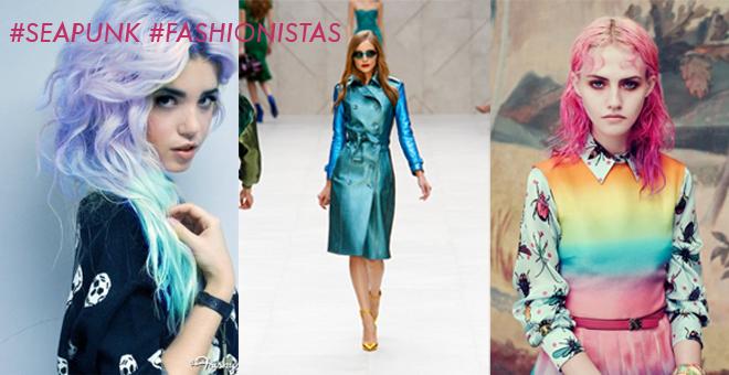Seapunk fashionistas