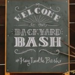 A Backyard Blogger Bash!