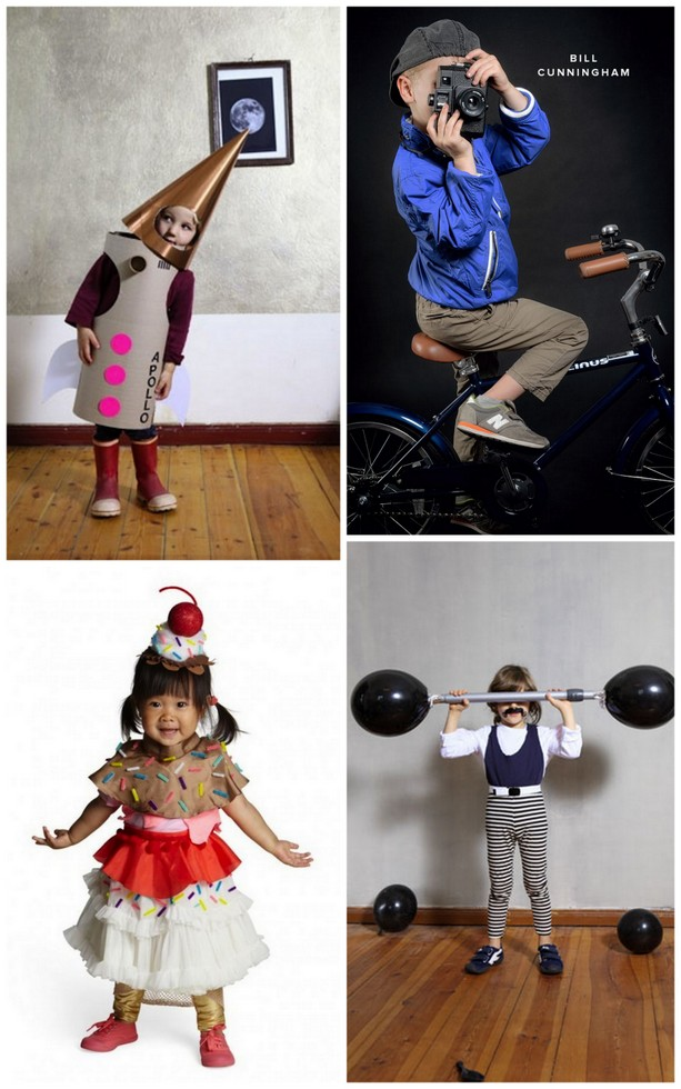 A collection of photos for best halloween costume ideas for kids