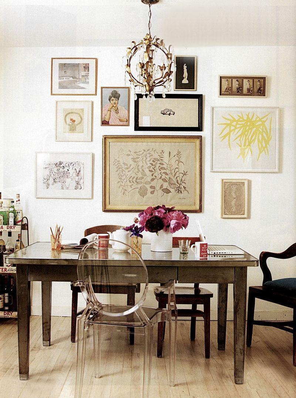 Vibrant Vignette Traditional Modern Office 1