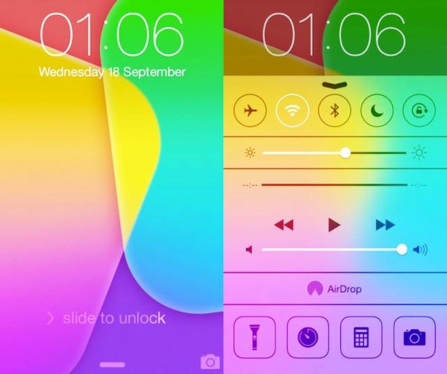 iOS7-Lock-Screen 2