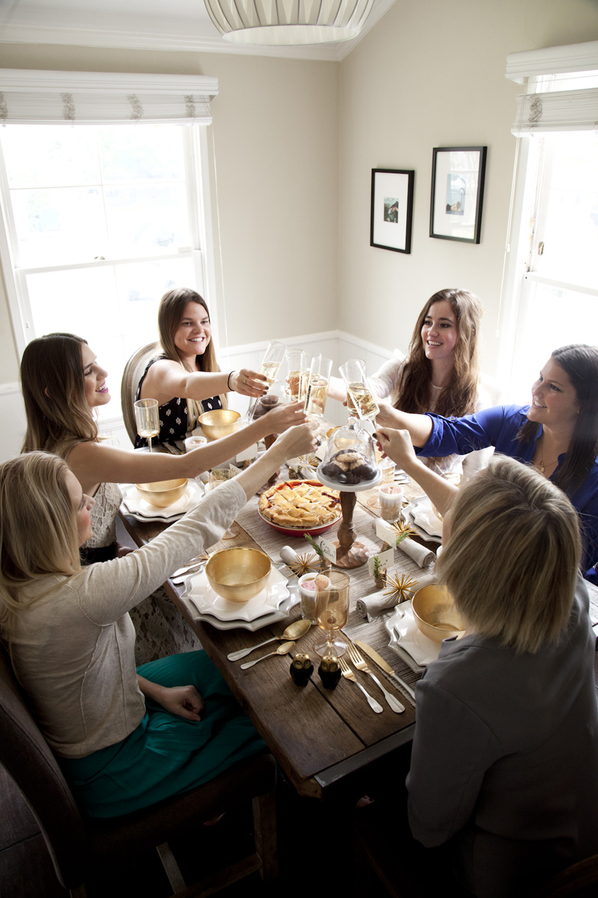 Cheering across a Thanksgiving table