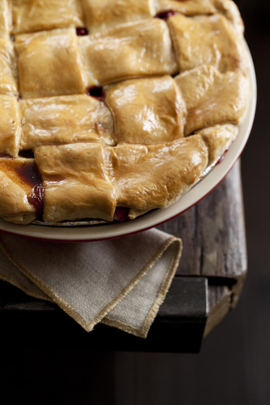 A thanksgiving pie