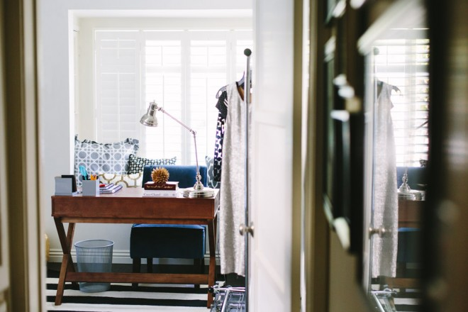 Jen S Office Tour For Rue Magazine The Effortless Chic