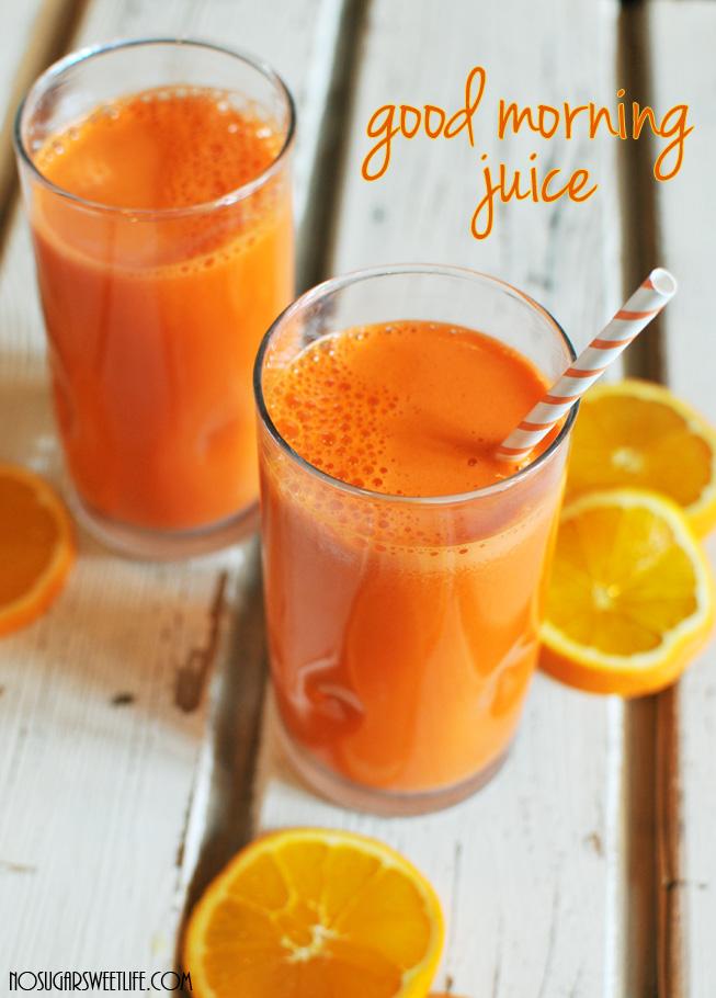 Orange juice in two glasses