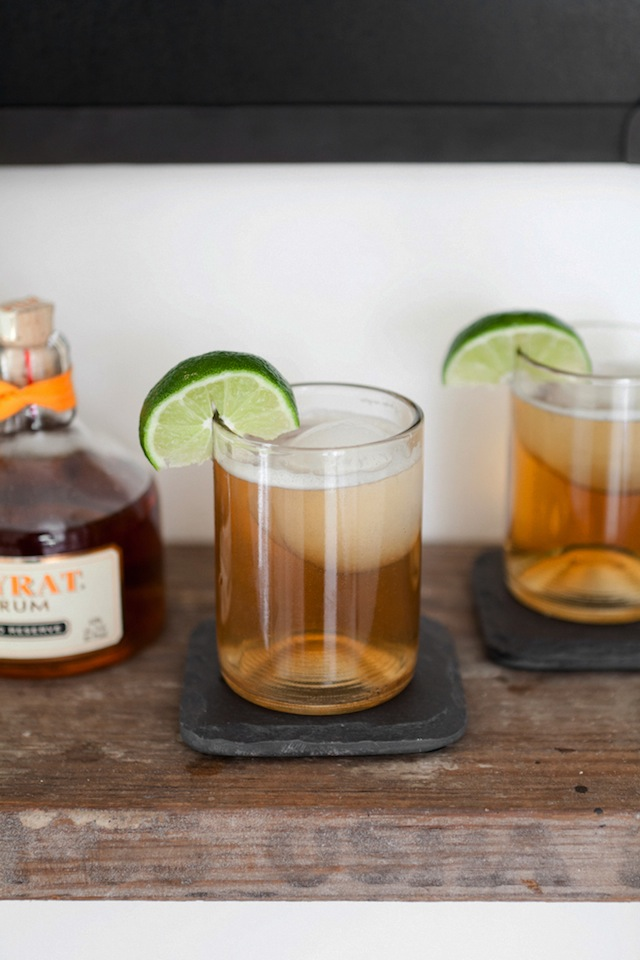 Dark 'N' Stormy Cocktails:: The Effortless Chic