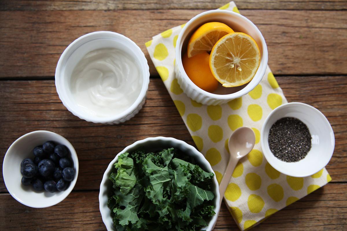 Kale Smoothie Ingredients