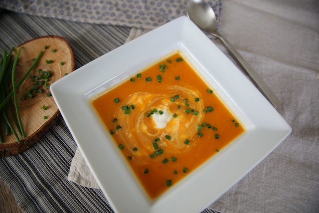 Smoky Butternut Squash Soup 2