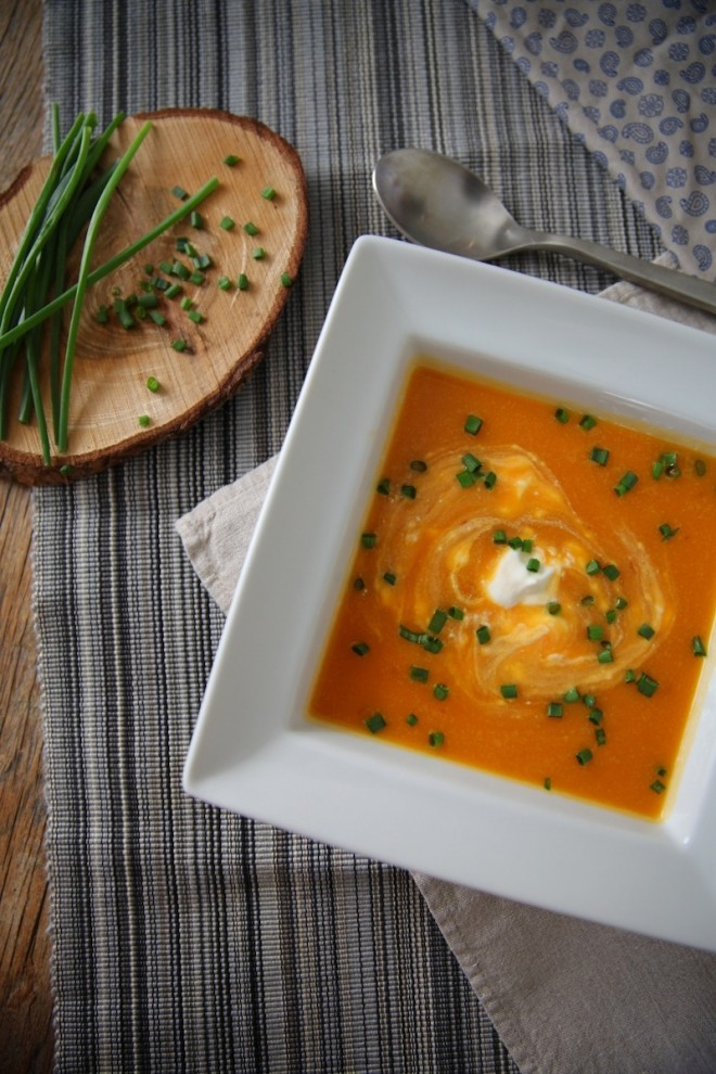 Smoky Butternut Squash Soup