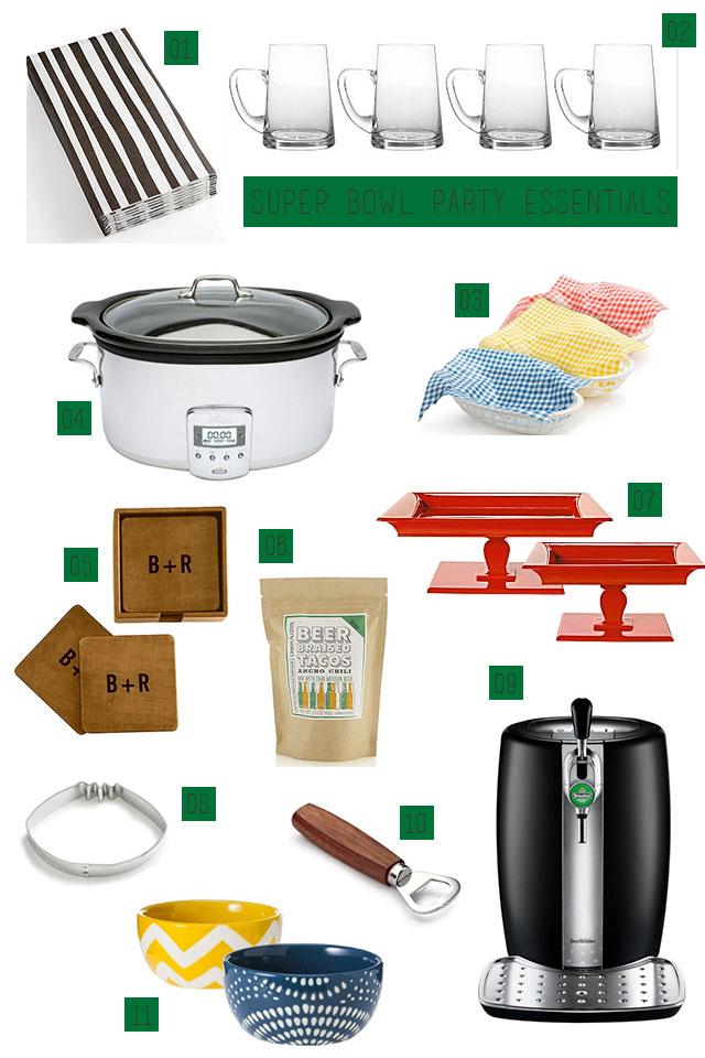Super Bowl Party Essentials