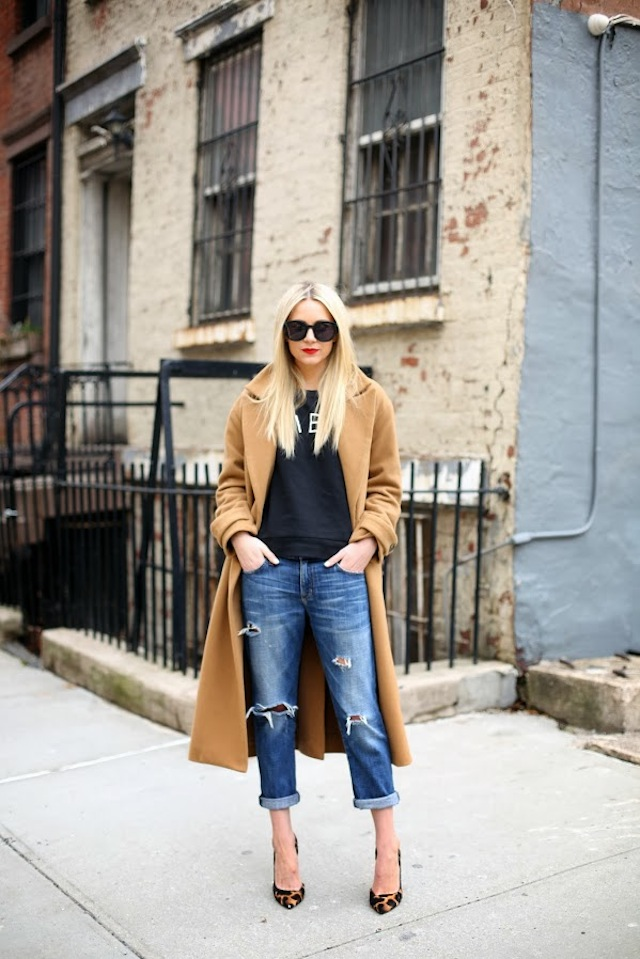 10 Ways To Wear A Tee :: The Effortless Chic 1