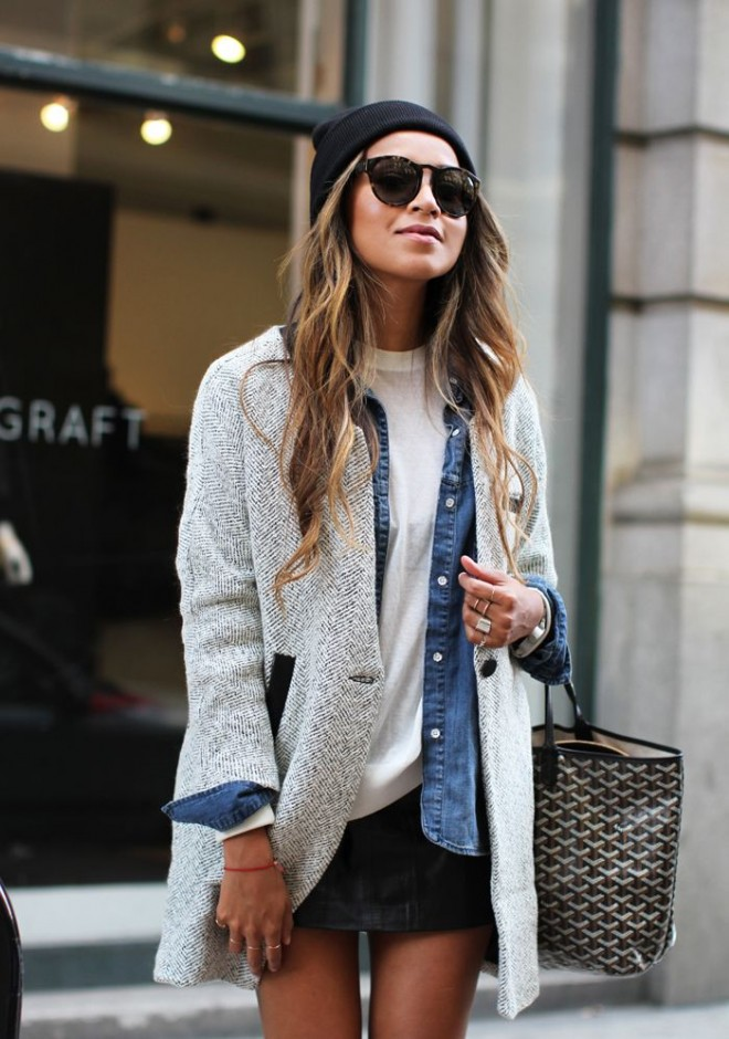 10 Ways To Wear A Tee :: The Effortless Chic 2