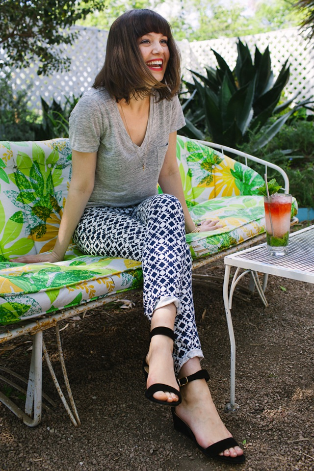 10 Ways To Wear A Tee :: The Effortless Chic 3
