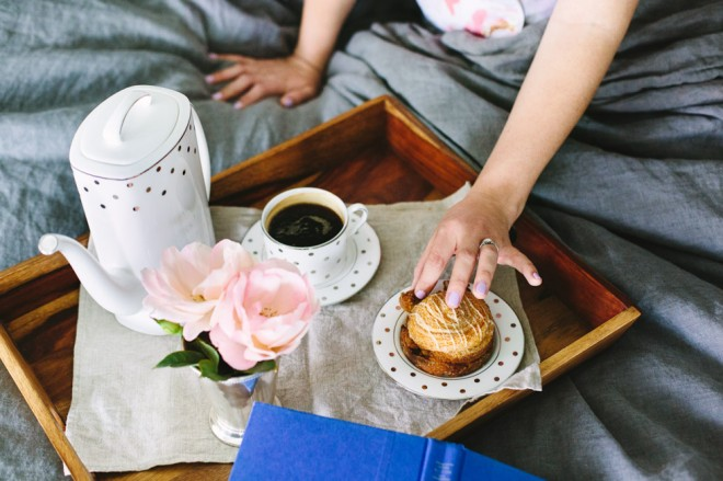 Breakfast In Bed :: The Effortless Chic 6